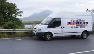 Duffies of Islay Parcel Delivery Service - B Mundells